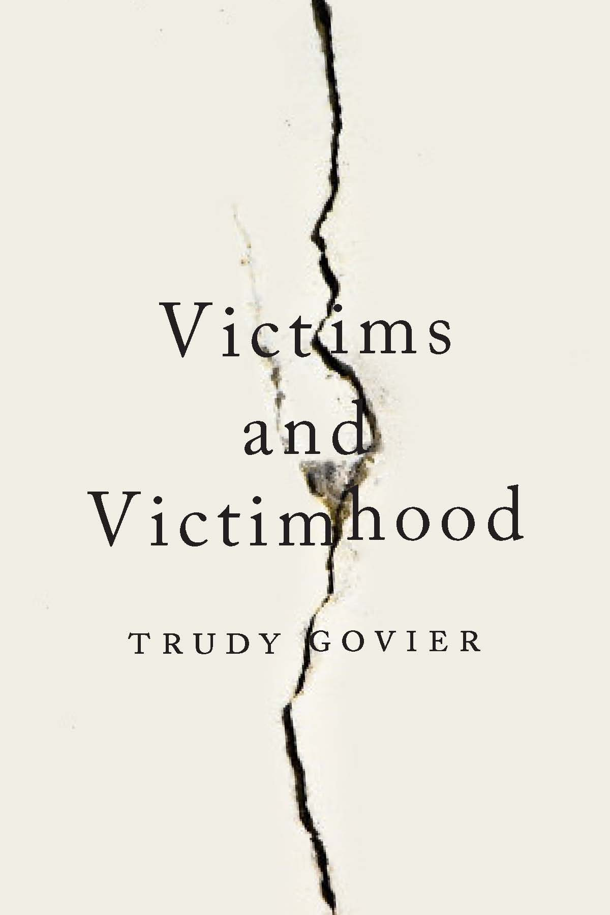 Need to answer a question on Victimhood and suffering?
