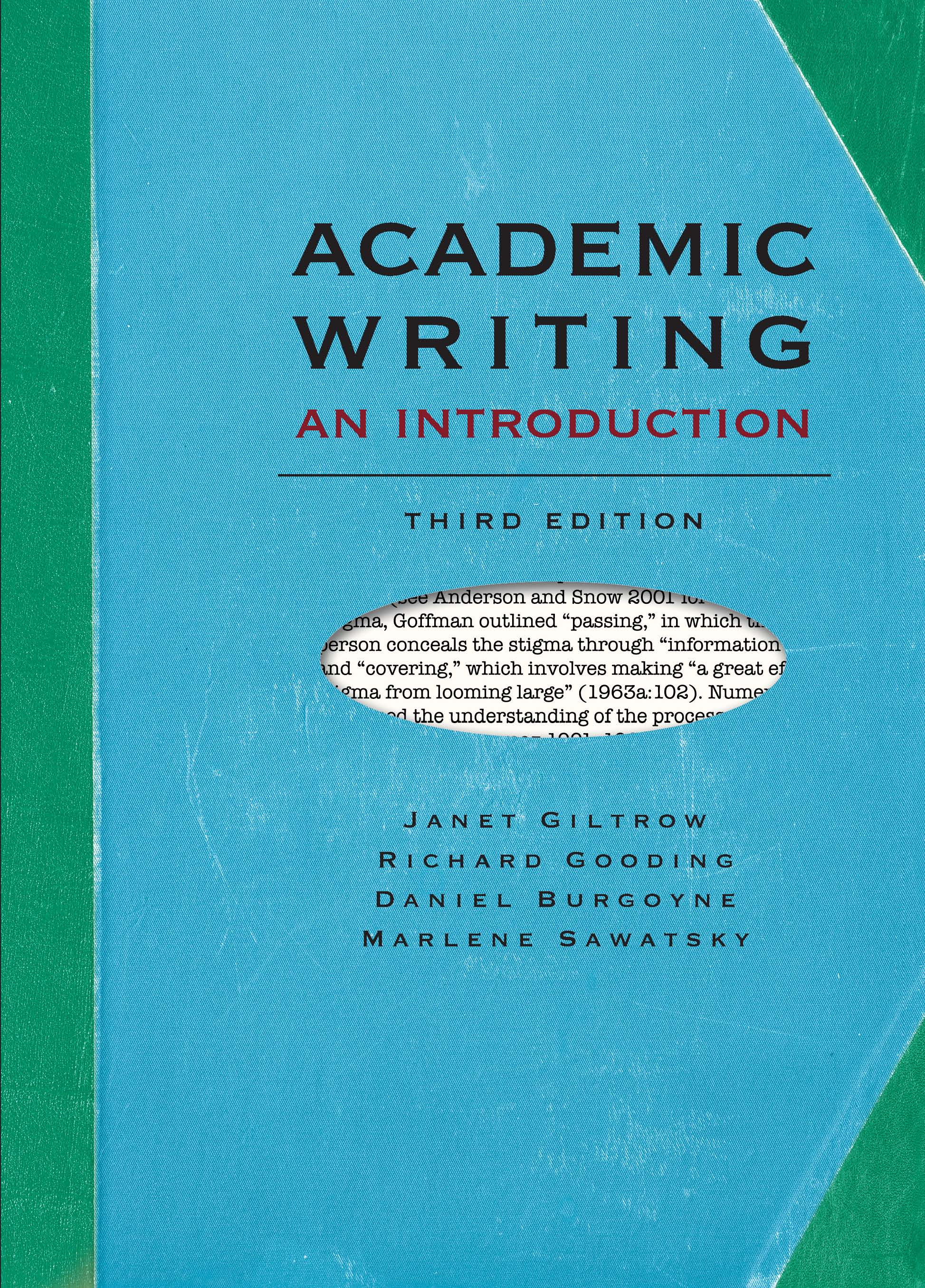 academic writing real world topics broadview press academic writing an introduction third edition
