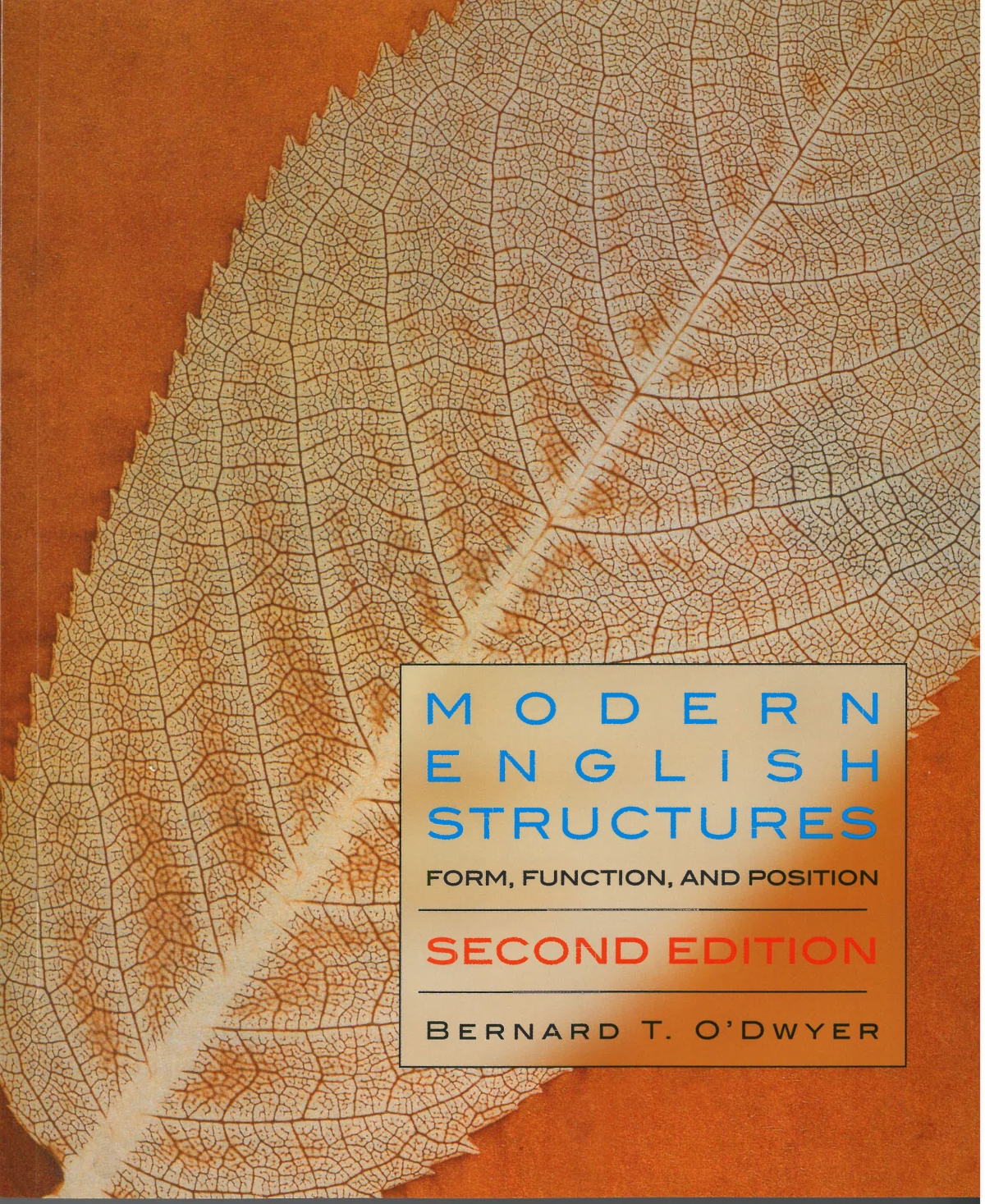 Modern English Structures - Second Edition - Broadview Press