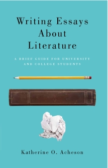 writing essays about literature broadview press written